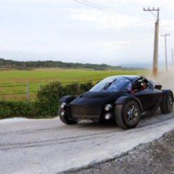 Miss R, электрический суперкар с 1 МВт под капотом, успешно выдержал испытания бездорожьем