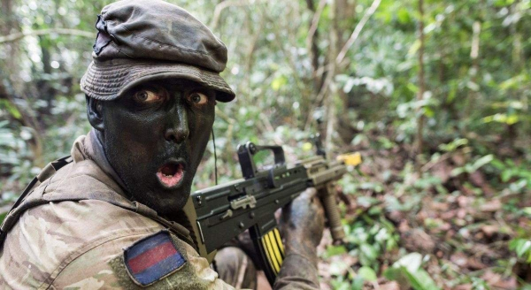 Британские солдаты под ЛСД