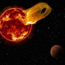 Мощнейшая звездная вспышка рушит все надежды на обнаружение жизни на планете Proxima b