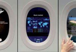 Старые иллюминаторы долой:  самолеты оснастят виртуальными окнами