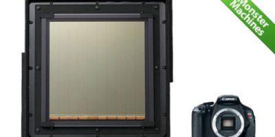 Машины-монстры: Огромный CMOS-датчик от компании Canon, который используется для «охоты» за метеорами