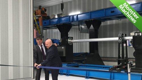 Машины-монстры: Самый большой в мире трехмерный принтер, печатающий металлические объекты