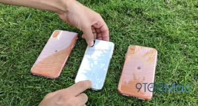В Сети показали новые модели iPhone