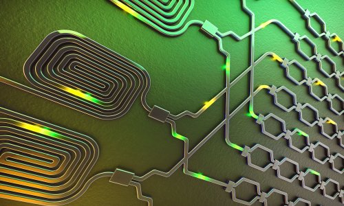 Создан первый кремниевый квантовый компьютер с двумя кубитами на основе фотонов света