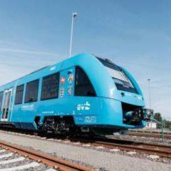В Германии состоялась мировая премьера первого водородного поезда