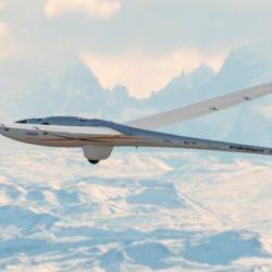 Планер Perlan 2 подбирается все ближе к границе атмосферы с космосом