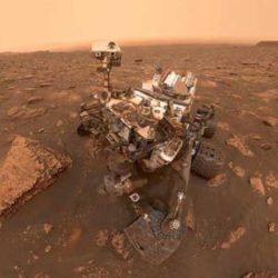 """Марсоход Curiosity переключился на резервный """"мозг"""" для устранения проблем с хранилищем данных"""