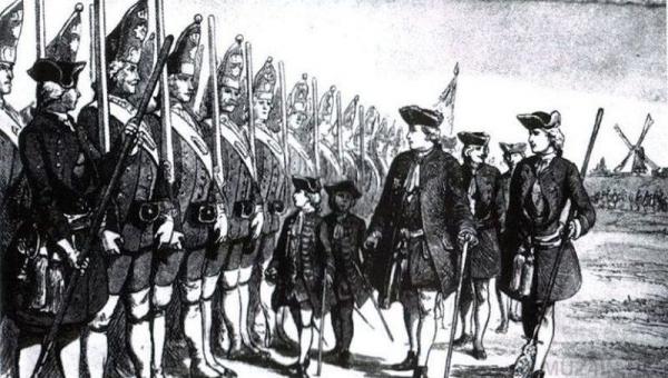 Загадочная прусская армия великанов