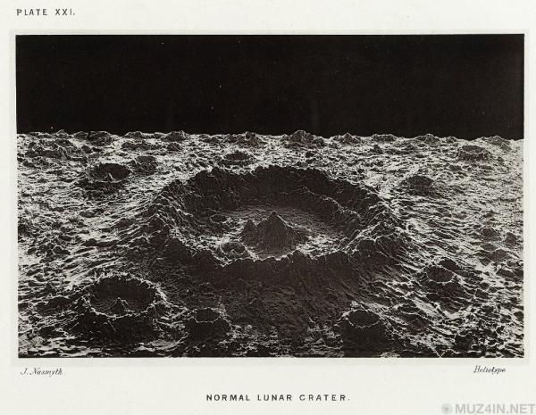 Поддельные лунные фотографии Джеймса Насмита (1874 год)