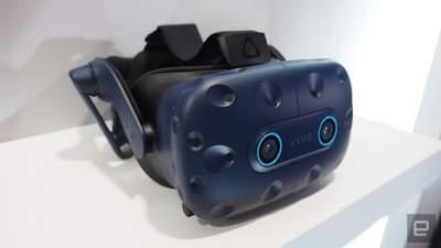 CES 2019: HTC представила шлем виртуальной реальности Vive Cosmos