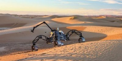 Группа «марсианских» роботов высадилась в пустыне в Марокко