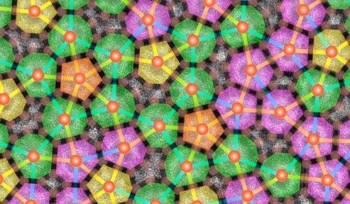 Физикам удалось создать в лабораторных условиях новый тип странных квазкристаллов