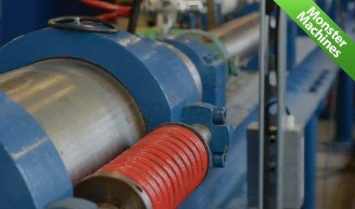 Машины-монстры: Machine 3 - рельсотрон, который будет разгонять снаряды до скорости 58 Махов