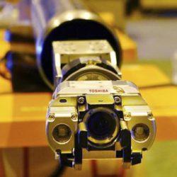 Компания Toshiba представила нового робота, предназначенного для исследований поврежденных реакторов атомной станции Фукусима