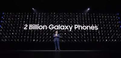 Samsung продала более 2 млрд телефонов Galaxy