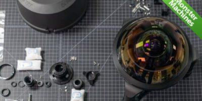 Машины-монстры: C-4 Optics — объектив с самой большой линзой типа «рыбий глаз», способный взглянуть назад за себя