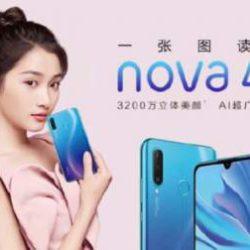 Huawei представила новый бюджетный смартфон Nova 4e