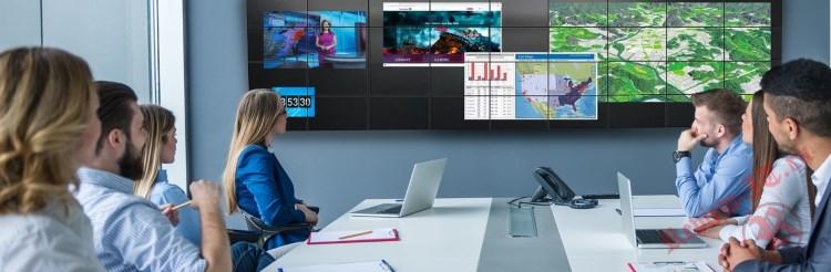 ViewSonic и Hiperwall стали поставщиками передовых дисплейных решений  для совместной работы