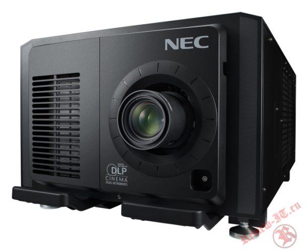 NEC представила первый в мире кинопроектор со сменным лазерным модулем на CinemaCon в Лас-Вегасе