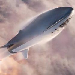Компания SpaceX успешно провела первые испытания двигателя нового космического корабля Starhopper