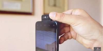 ASUS готовит смартфон с поворотной двойной камерой