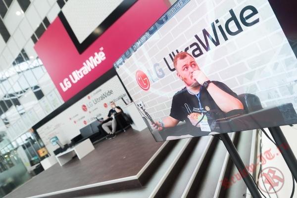 На фестивале «Cтримфест 2019»: стрим-платформа LG&Игромания, топовые стримеры и мониторы LG UltraWide