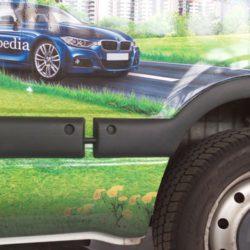 Особенности размещения рекламы на автомобиле
