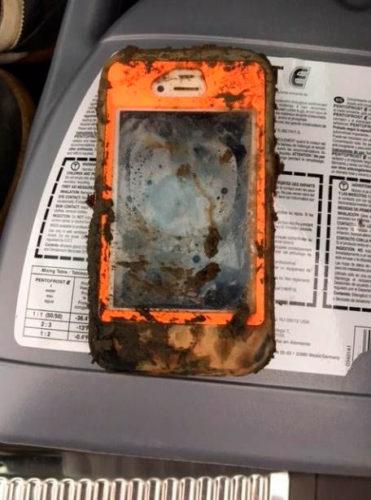 "iPhone полтора года пролежал на дне озера и ""не испортился""!"