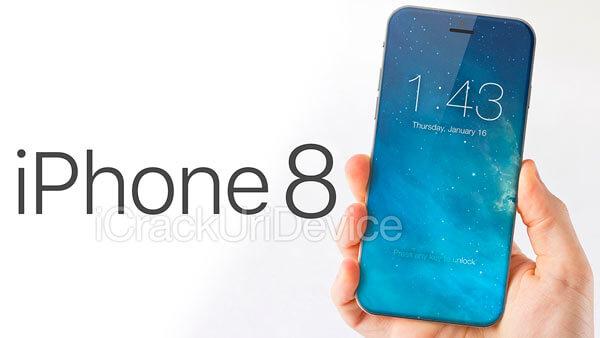 iPhone 8 будет иметь изогнутый дисплей