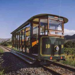 «Винный» трамвай в Южной Африке