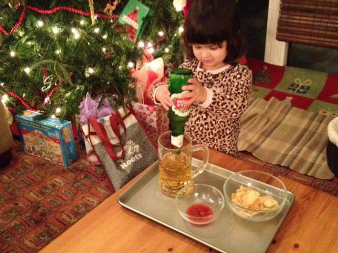 Хитрый отец придумал, чем себя порадовать на рождество » Новости со всего мира,Интересные новости,Интересные факты,Новости России сегодня,.