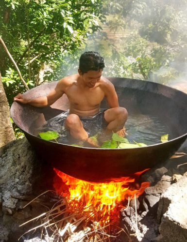 Ванна для тех, кто хочет быть ближе к природе » Новости со всего мира,Интересные новости,Интересные факты,Новости России сегодня,.