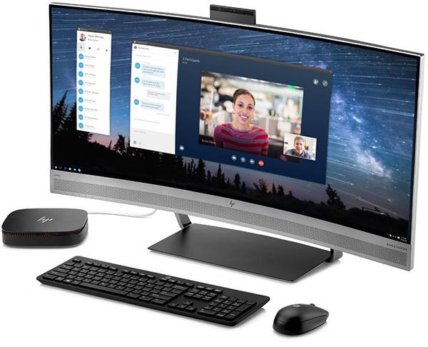 Монитор HP EliteDisplay S340c с изогнутой матрицей диагональю 34 дюйма и встроенной web-камерой оценен в $1500