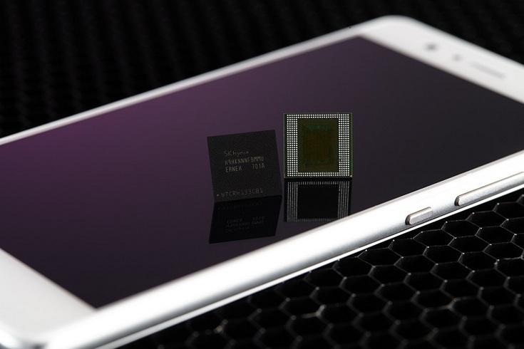 SK Hynix первой в отрасли представила микросхемы памяти LPDDR4X DRAM объёмом 8 ГБ