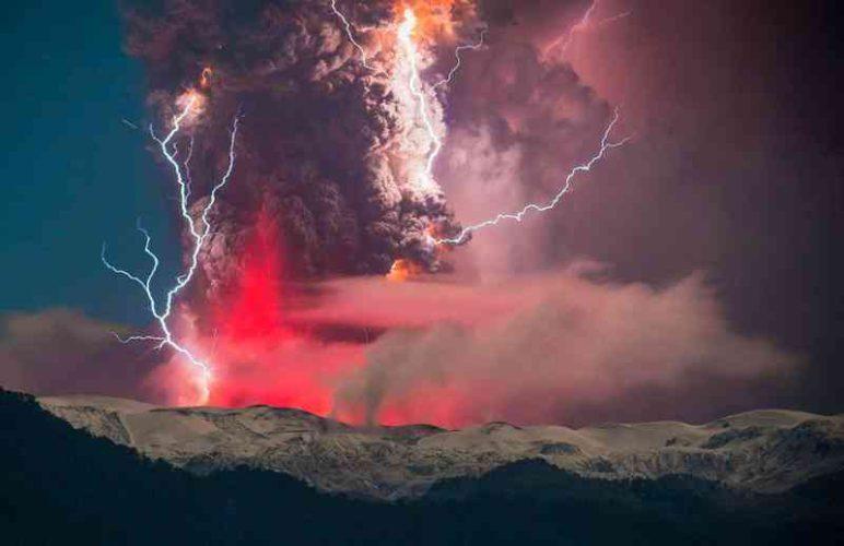 Поразительно красивые изображения вулканических извержений » Новости со всего мира,Интересные новости,Интересные факты,Новости России сегодня,.