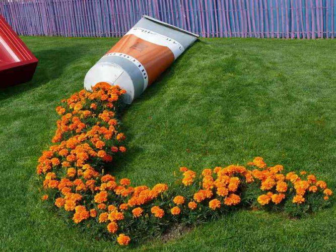 Удивительные сады, которые выглядят, как пролитые краски » Новости со всего мира,Интересные новости,Интересные факты,Новости России сегодня,.