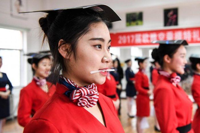 В китайской школе стюардесс » Новости со всего мира,Интересные новости,Интересные факты,Новости России сегодня,.