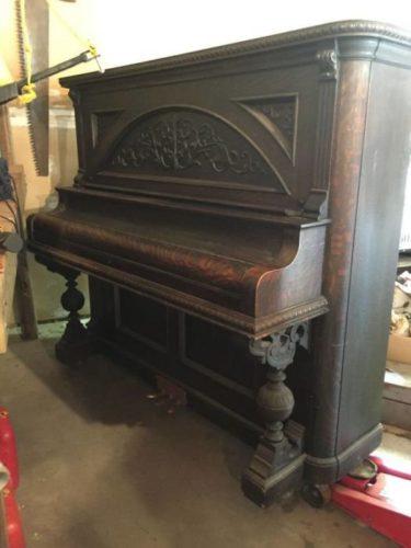 Компьютерный стол из старого пианино » Новости со всего мира,Интересные новости,Интересные факты,Новости России сегодня,.