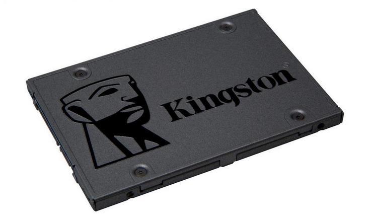 За SSD A400 объёмом 480 ГБ компания Kingston просит $140