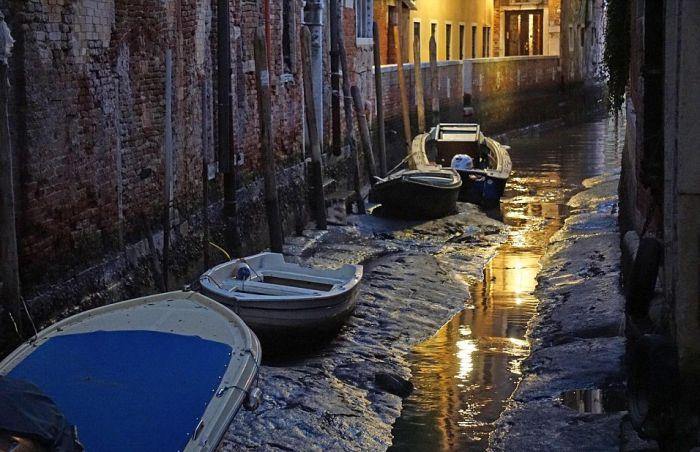 Из-за сильного отлива Венеция осталась без воды » Новости со всего мира,Интересные новости,Интересные факты,Новости России сегодня,.
