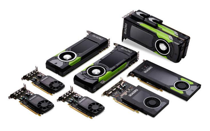 Представлены ускорители Nvidia Quadro GP100, P4000, P2000, P1000, P600 и P400 на архитектуре Pascal
