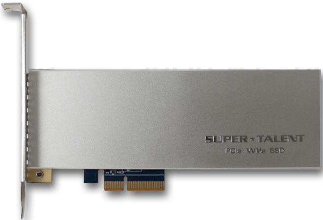 SSD Super Talent SuperCache (AIC34) достигает скорости чтения в 3 ГБ/с