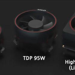 Появилось изображение штатных охладителей CPU AMD Ryzen