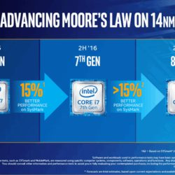 Кручу, верчу, запутать хочу. Intel выпустит процессоры Core восьмого поколения уже в нынешнем году, причём по 14-нанометровой технологии