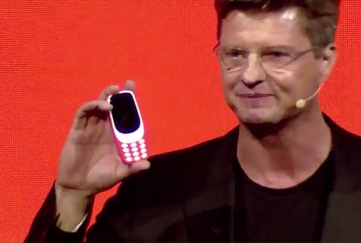 Представлен телефон Nokia 3310