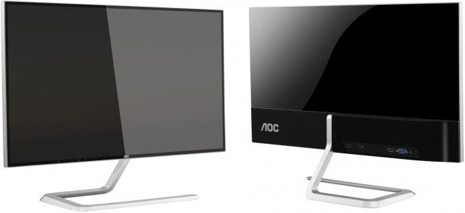 AOC Q2781PS — возможно, единственный на рынке розовый монитор с кристаллами Сваровски