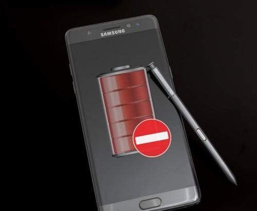 Samsung отключит возможность зарядки оставшихся на руках смартфонов Galaxy Note7