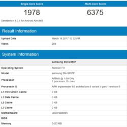 Samsung Galaxy S8+ с SoC Exynos 8895 в тесте GeekBench опередил версию со Snapdragon 835