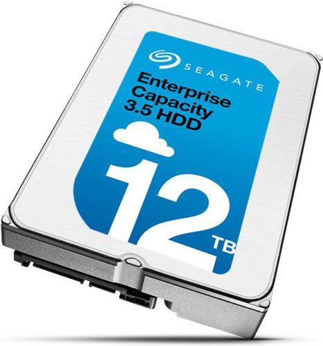 Представлен накопитель Seagate Enterprise Capacity 3.5 HDD объемом 12 ТБ