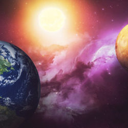Планетологи предрекли столкновение Земли и Марса